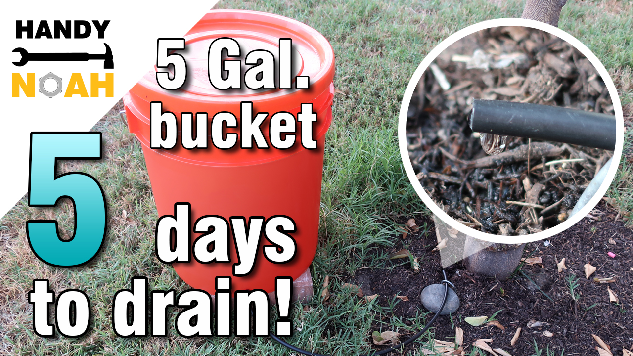 five gallon gravity drip irrigation